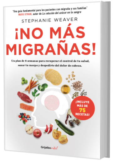 Book: Migraine Relief Plan by Stephanie Weaver (Spanish)